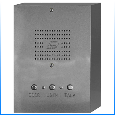 IR-443SS 3-Wire Surface Mount Stainless Steel Apartment Intercom Stations w/ Round Metal Buttons