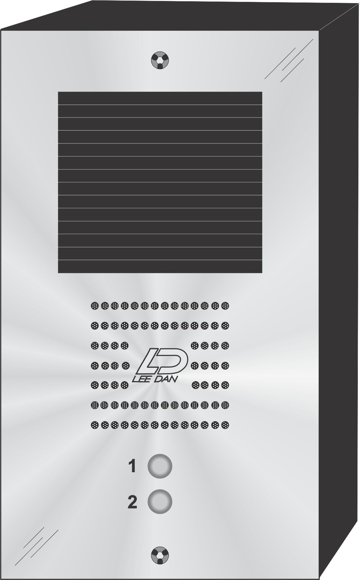 QS-002S 2 Button Panel